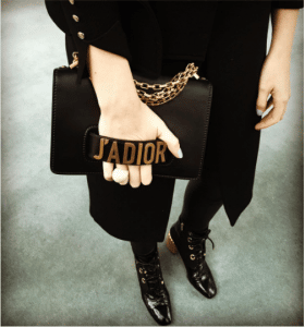 Dior Black J'adior Flap Bag with Chain 5