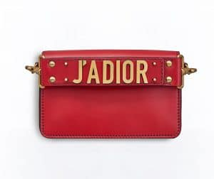 Dior Red J'adior Flap Bag
