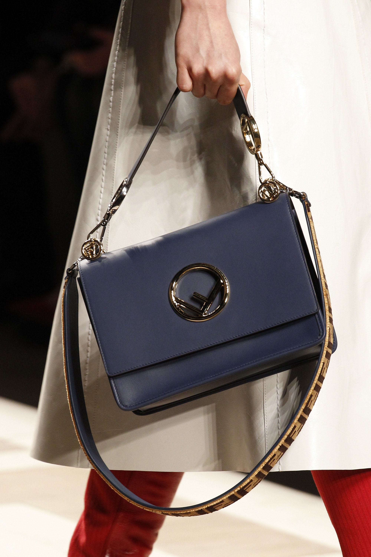 Fendi Blue Flap Bag