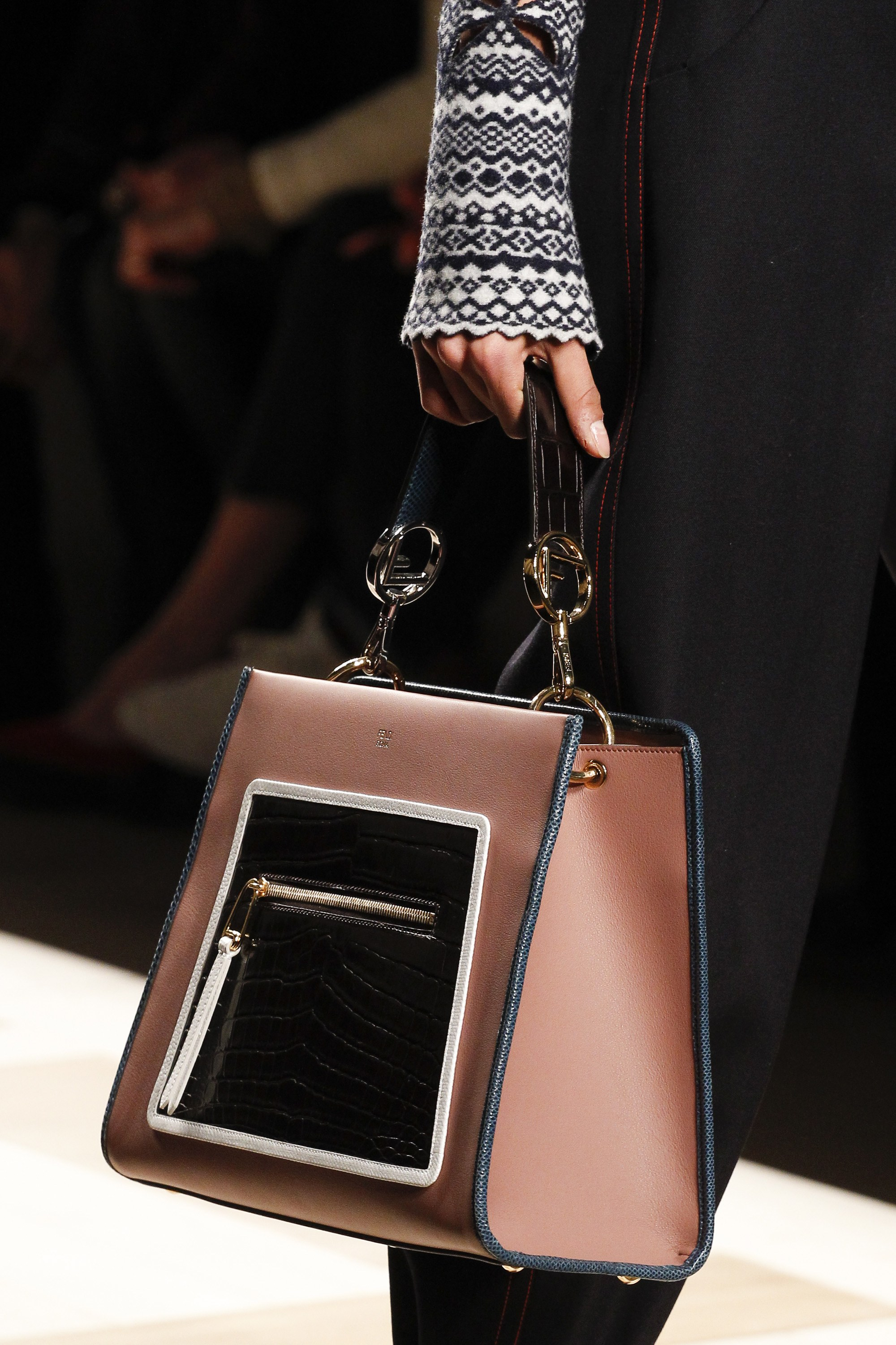 Fendi Fall Winter 2017 Runway Bag Collection Spotted Fashion