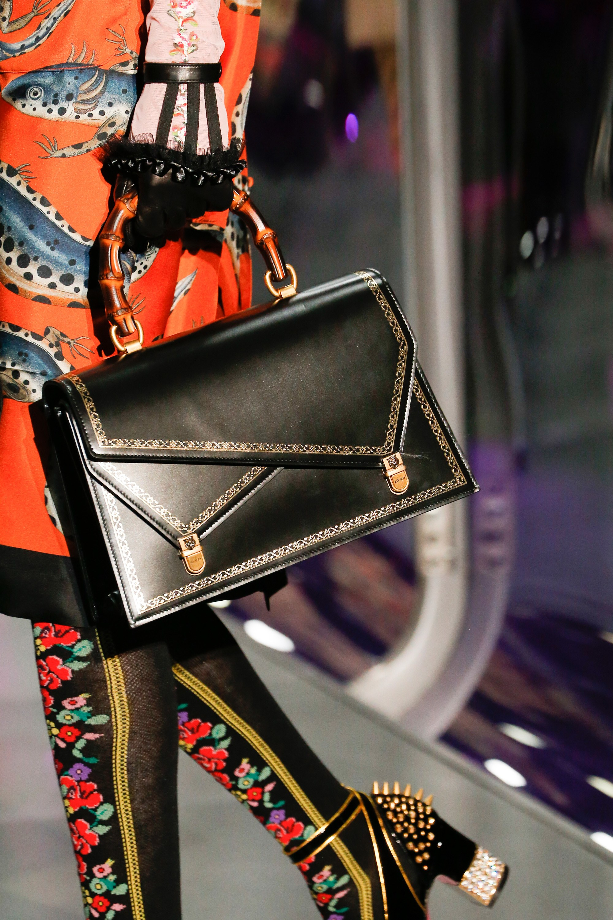 Gucci Fall Winter 2017 Runway Bag Collection Spotted Fashion