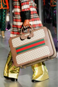 Gucci GG Supreme Suitcase Bag - Fall 2017