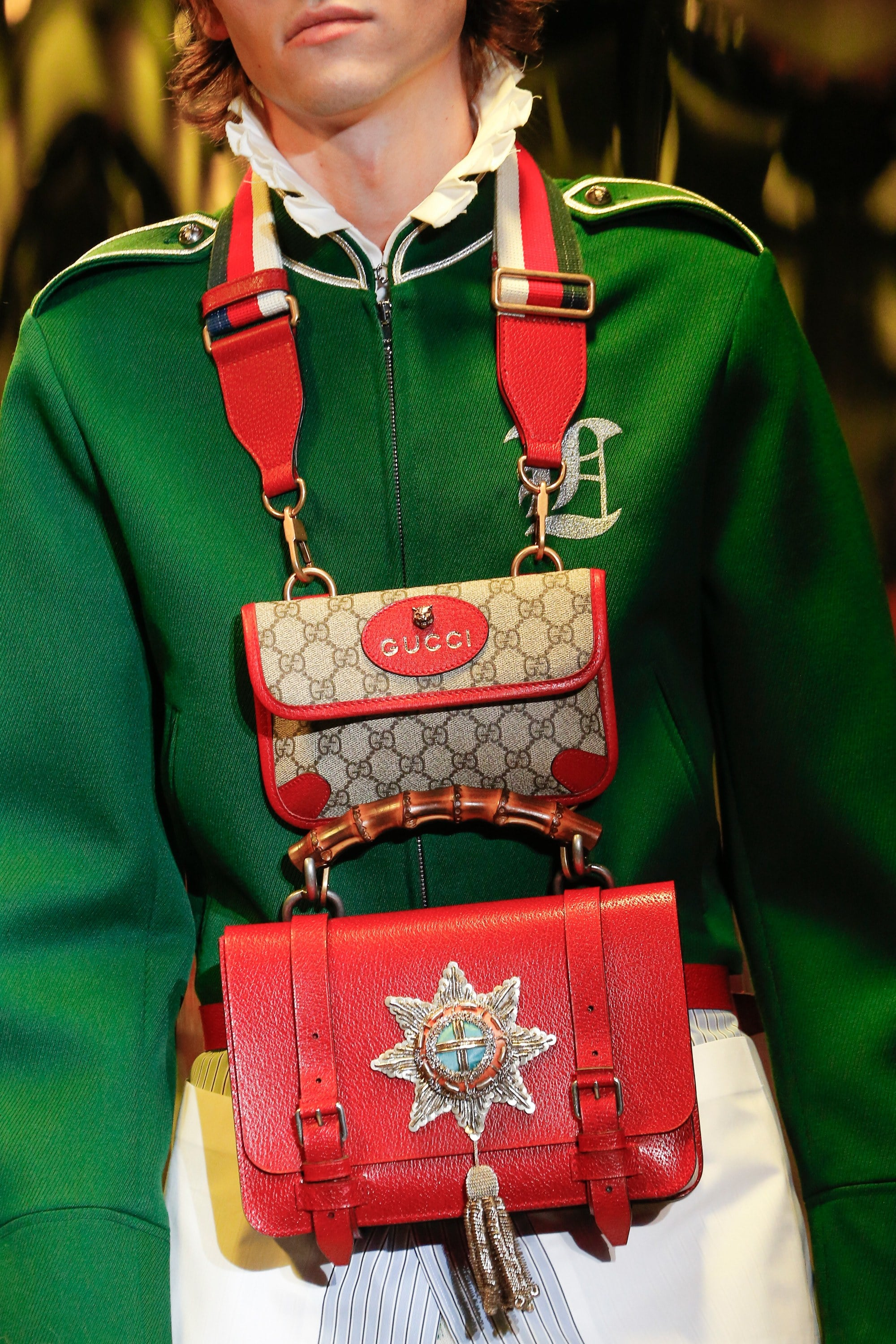 Gucci Fall Winter 2017 Runway Bag Collection Spotted
