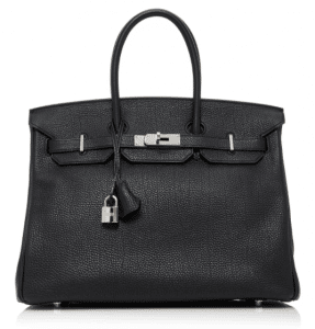 Hermès 35cm Black Togo Leather Birkin