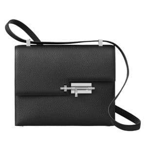 Hermes Black Verrou Shoulder Bag
