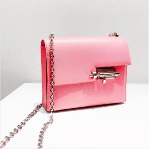 Hermes Lipstick Pink Verrou Chaine Bag
