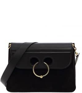 J. W. Anderson Black Large Pierce Bag