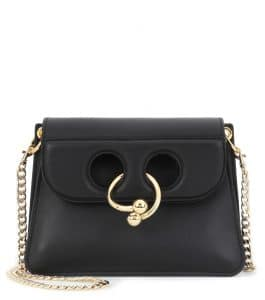 J. W. Anderson Black Mini Pierce Bag