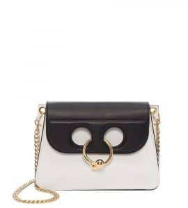 J. W. Anderson Black/White Mini Pierce Bag