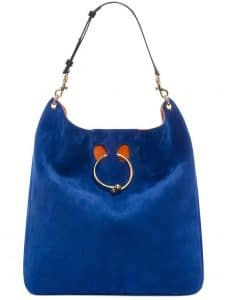 J. W. Anderson Royal Blue Large Pierce Hobo Bag