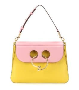 J. W. Anderson Yellow/Bubblegum Medium Pierce Bag