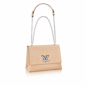 Louis Vuitton Beige Epi Twist GM Bag