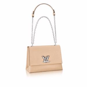 Louis Vuitton Beige Epi Twist GM Bag