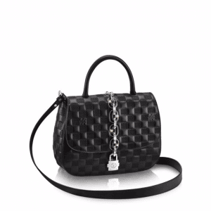 Louis Vuitton Black Damier Chain It PM Bag