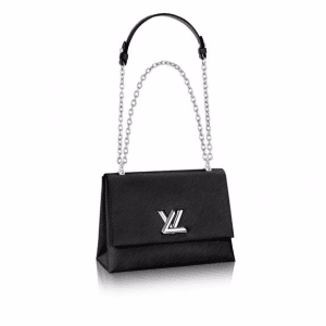 Louis Vuitton Black Epi Twist GM Bag