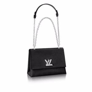 Louis Vuitton Black Epi Twist GM Bag