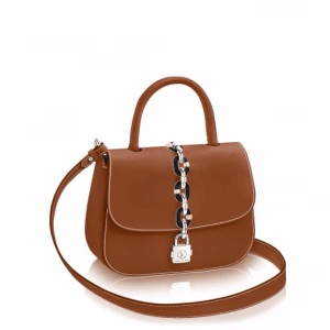 Louis Vuitton Caramel Calfskin Chain It PM Bag