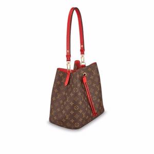 Louis Vuitton Coquelicot Monogram Canvas Neonoe Bag 2