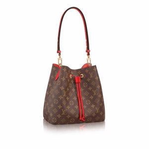 Louis Vuitton Coquelicot Monogram Canvas Neonoe Bag