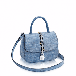 Louis Vuitton Denim Epi Chain It PM Bag