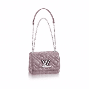 Louis Vuitton Mastic Monogram Malletage Twist MM Bag