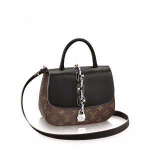 Louis Vuitton Monogram Canvas Calfskin Chain It PM Bag