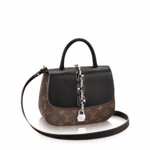Louis Vuitton Monogram Canvas Calfskin Chain It PM Bag