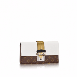 Louis Vuitton Monogram Canvas Column Clutch Bag