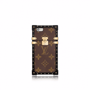 Louis Vuitton Monogram Canvas Eye-Trunk for iPhone 7 Case