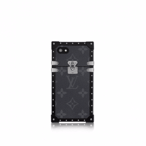 Louis Vuitton Monogram Eclipse Eye-Trunk for iPhone 7 Case