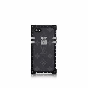 Louis Vuitton Monogram Eclipse Eye-Trunk for iPhone 7 Case