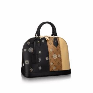 Louis Vuitton Monogram Reverse Alma PM Night Light Bag