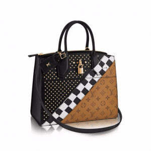 Louis Vuitton Monogram Reverse City Steamer MM Night Light Bag
