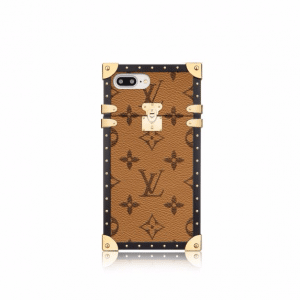 Louis Vuitton Monogram Reverse Eye-Trunk for iPhone 7 Plus Case