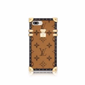 Louis Vuitton Monogram Reverse Eye-Trunk for iPhone 7 Plus Case