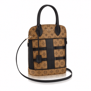Louis Vuitton Monogram Reverse Tressage Tote Bag