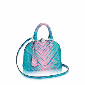Louis Vuitton Multicolor Alma BB Tropical Bag