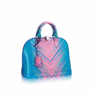 Louis Vuitton Multicolor Alma PM Tropical Bag