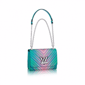 Louis Vuitton Multicolor Epi Twist MM Tropical Bag