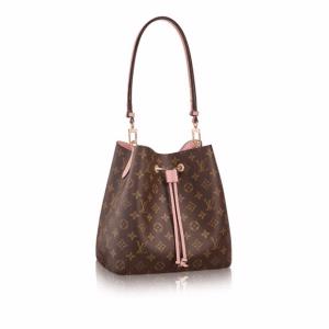 Louis Vuitton Rose Poudre Monogram Canvas Neonoe Bag