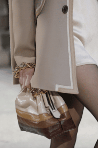 Marc Jacobs Beige/Camel/Brown Chain Bucket Bag - Fall 2017