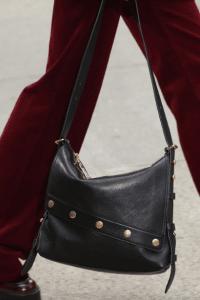 Marc Jacobs Black Studded Messenger Bag - Fall 2017