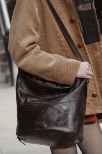 Marc Jacobs Brown Hobo Shoulder Bag - Fall 2017