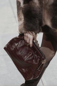 Marc Jacobs Burgundy Chain Shoulder Bag - Fall 2017