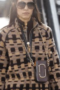 Marc Jacobs Burgundy Snapshot Chain Bag - Fall 2017