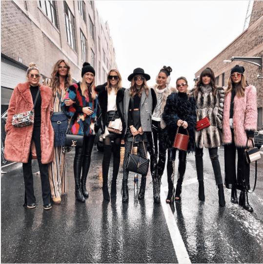 Michelle Ressler - New York Fashion Week