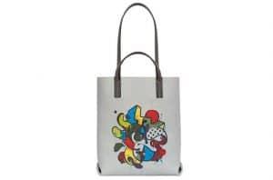 Moynat Fog/Slate Sweetness Galaxy Print Quattro Tote Bag