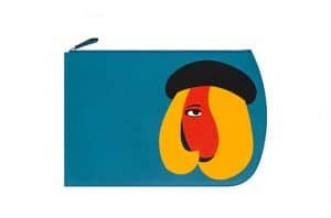 Moynat Sky Blue Brigitte Pouch Bag - Mambo for Moynat