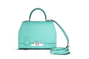 Moynat Turquoise Rejane Bag
