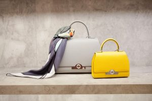 Moynat Yellow and Fog Rejane Bags